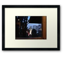 freeman hollywood Framed Print