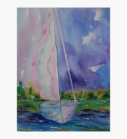 Abstract Sail Photographic Print