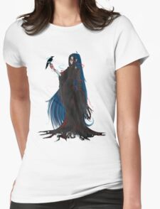 The Society Chronicles: Aeron and Crow Womens Fitted T-Shirt