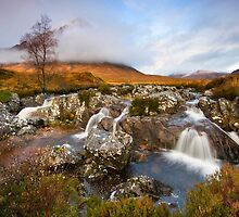 Scotland : Autumn at Buachaille Etive Mor by Angie Latham