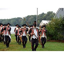 Kentish Guards Fife and Drum Corps Photographic Print