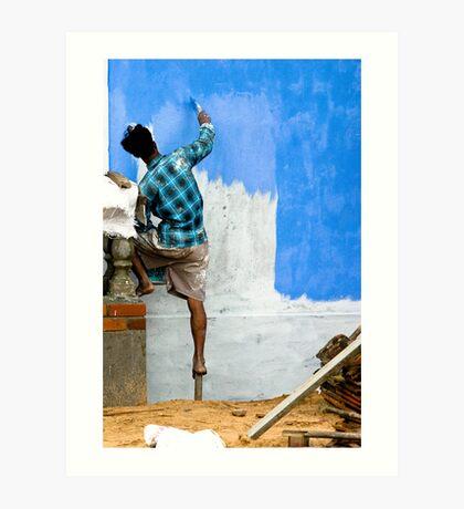 The Blueing  Art Print