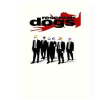 Reservoir Dogs Art Print