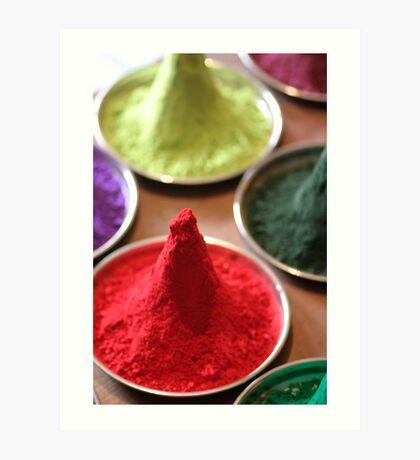 Pigment- Piles of Color Art Print