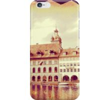 Golden Lucerne from the Kapellbrucke iPhone Case/Skin