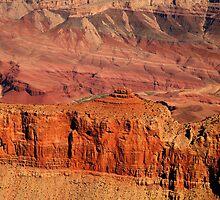 Grand Canyon Colour by Olga Zvereva