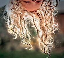 ...letting her hair down... by Geoffrey Dunn
