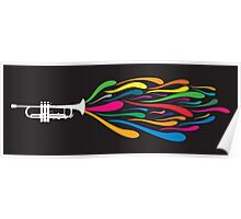 A Trumpet Poster