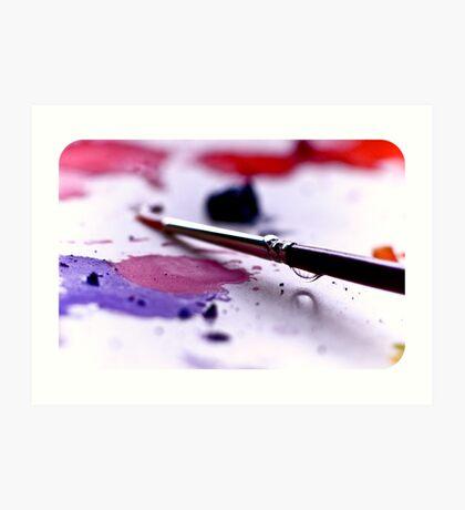 Paintbrush Art Print