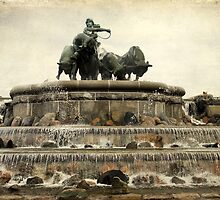Gefion Fountain  by Jonicool