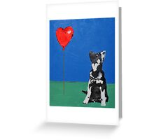 Freddie and the Balloon Greeting Card