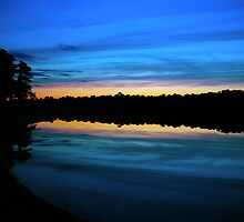 Blue Dusk by Paul Gitto