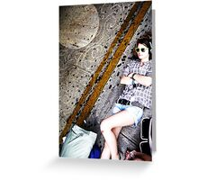 Puerto Rico Dreamin Greeting Card