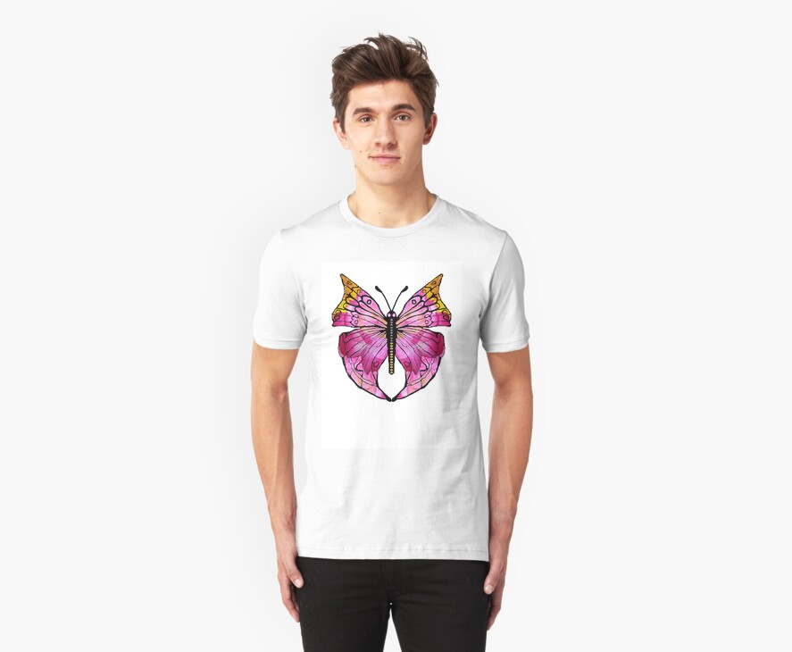 Butterfly 4-Rose by plunder
