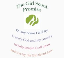 Girl Scout Tee 2 by solareclips~Julie  Alexander