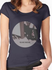 You are fabulous Women's Fitted Scoop T-Shirt