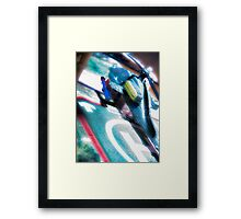 Boys Toys Series 1 - Launchpad Framed Print