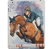 Scott Brash on Hello Sanctos iPad Case/Skin