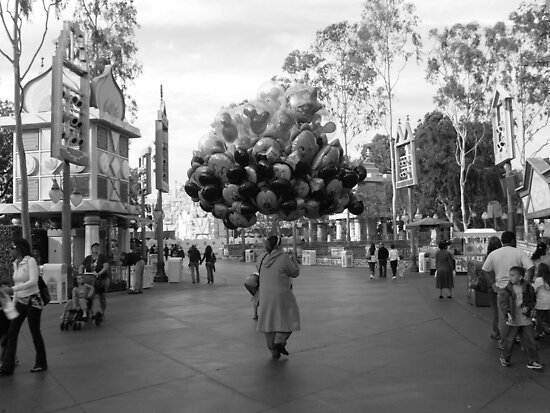 """the obligation of the balloon in disneyland"" by Mimby Jones Robinson Esquire"