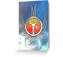 astrology aries Greeting Card