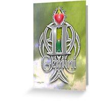 astrology gemini Greeting Card