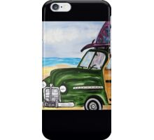 watch hill woodie wagon iPhone Case/Skin