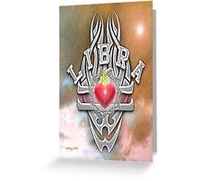 astrology libra Greeting Card