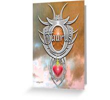 astrology taurus Greeting Card