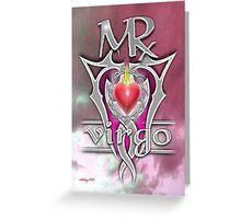 astrology virgo Greeting Card