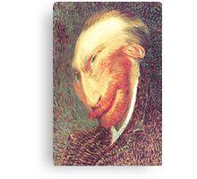 Twisted Vincent - A View of Vincent van Gogh Canvas Print