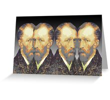 Vincent van Gogh Portrait Greeting Card