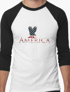 Eagle with Stars and Stripes American Flag T-Shirt