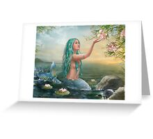 Mermaid Ariel Greeting Card
