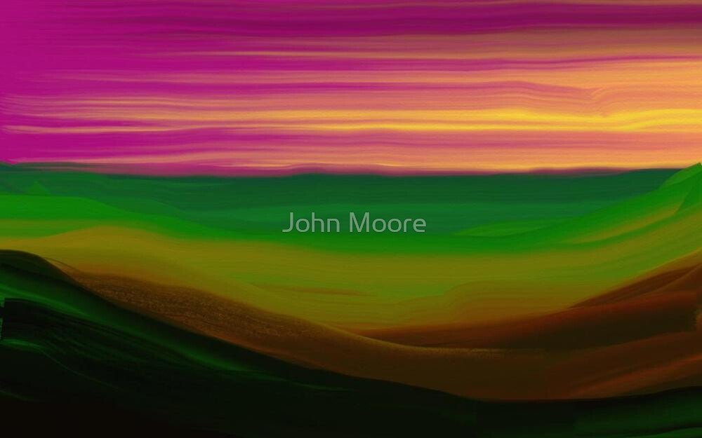 Gloaming by John Moore