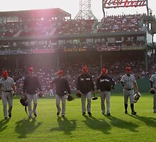 Fenway- Home Turf: Oncoming Competition by PhotoPeep