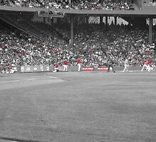 Fenway Outlook: Grey/Red  by PhotoPeep
