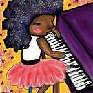 Purple Piano - Beatrice Ajayi by Beatrice  Ajayi
