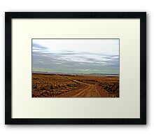 Very Early, Very Cold Framed Print