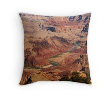 Colorado River from South Rim Throw Pillow