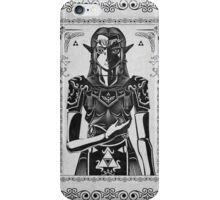 Legend of Zelda Princess Geek Art iPhone Case/Skin