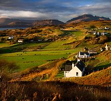 Tarskavaig in November. Isle of Skye. Scotland. by PhotosEcosse