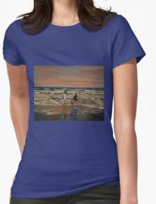 Last Rays Of The Day Womens Fitted T-Shirt