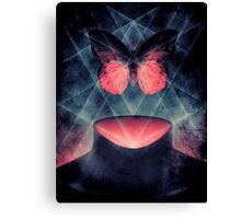 Beautiful Symmetry Surreal Butterfly Canvas Print