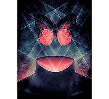 Beautiful Symmetry Surreal Butterfly Photographic Print