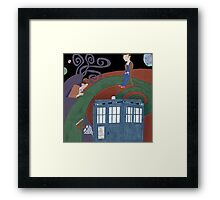 Meeting in the Colors Framed Print