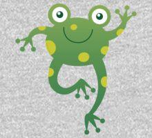 Smiling Baby Frog Baby Tee