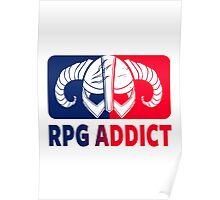 RPG Addict Poster