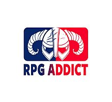 RPG Addict Photographic Print