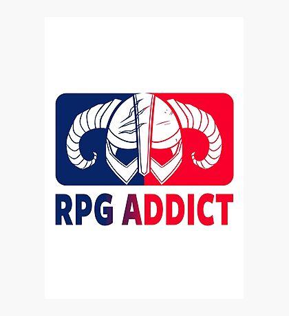 RPG Addict Photographic Print