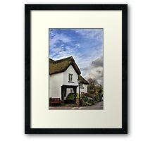 Coleford, Devon Framed Print